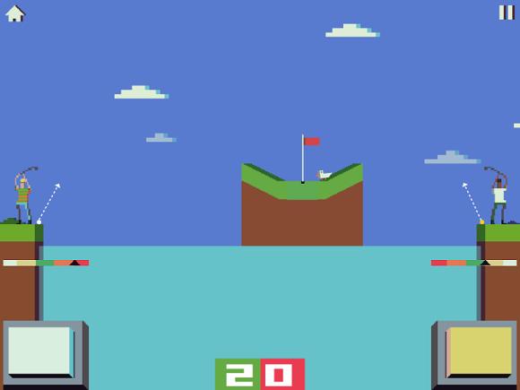 battle golf oyunu