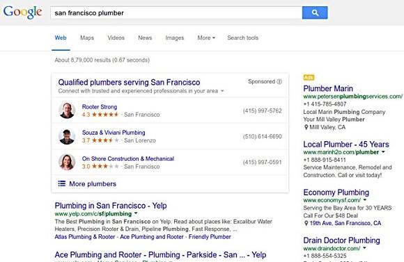 google ev hizmetleri