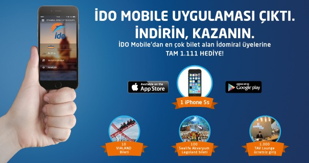 ido mobile uygulaması