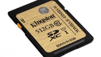 kingston 512 gb hafıza kartı