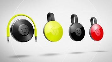 Chromecast 2 ve Chromecast Audio Tanıtıldı