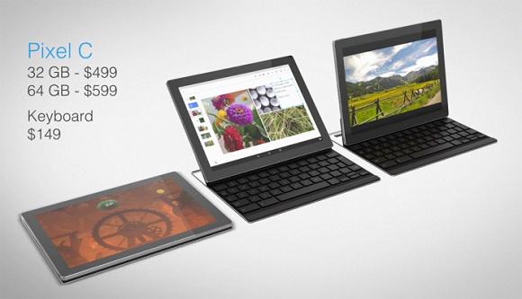 pixel c harici klavye