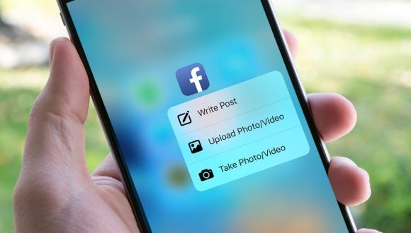 Artık Facebook'ta 3D Touch destekliyor!