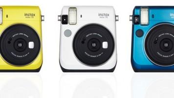 Fujifilm'den yeni fotoğraf makinesi instax mini 70