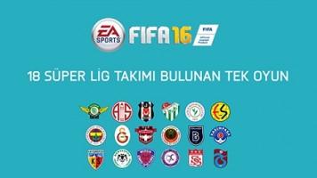 Süper Lig için özel FIFA 16 videosu yayınlandı