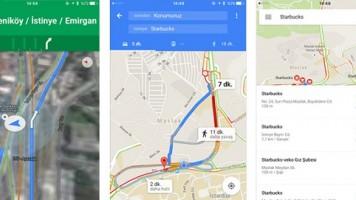 Google Haritalar'ın iOS versiyonu nihayet Türkiye'de