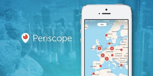 Periscope Android sürümü güncellendi!