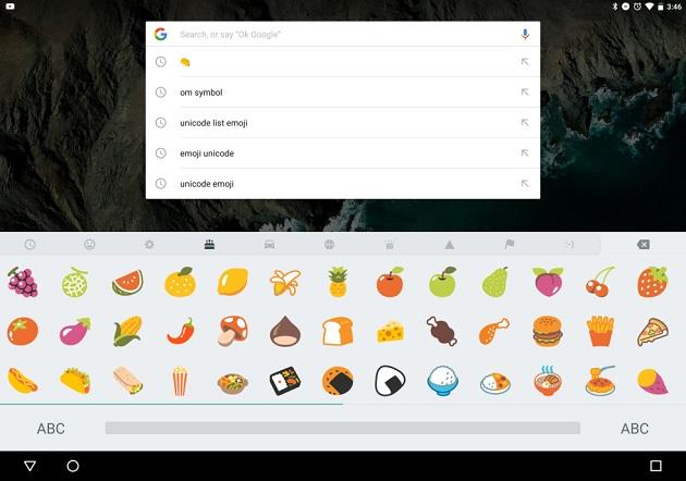 Android 6.0.1 yeni emojiler