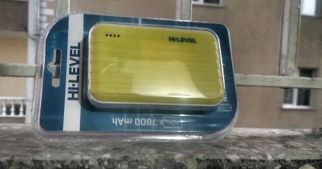 HI-LEVEL Taşınabilir Şarj Cihazı incelemesi