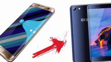 Samsung S7 Edge kopyası : Elephone S7!