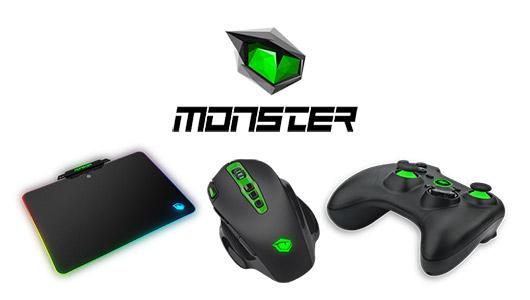Monster Pusat Serisi Ekipmanlarını Kullanıcıların Beğenisine Sundu