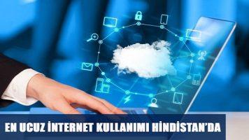 En Ucuz İnternet Kullanımı Hindistan'da