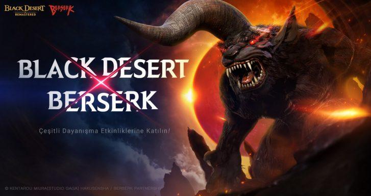 ünyaca ünlü anime Berserk, Black Desert Türkiye ve MENA'da!