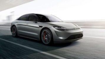 CES 2020'de Elektrikli Otomobil Sürprizi Sony Vision-S
