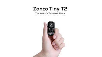Dünya'nın En Küçük Cep Telefonu: Zanco Tiny T2