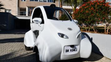KKTC Yerli Otomobili Da Vinci yi Tanıttı!