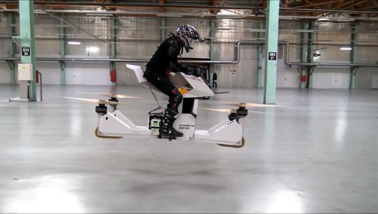 Scorpion İsimli Hava Aracı Pilotla Birlikte 30 Metreden Yere Çakıldı!