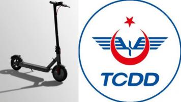 """TCDD, """"Çuf Çuf"""" ile Paylaşımlı Elektrikli Scooter Sektörüne Giriyor!"""