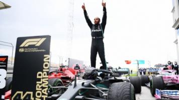 F1 Türkiye Grand Prix'inde Hamilton Dünya Şampiyonu Oldu!