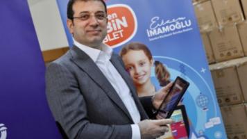 İBB, Ücretsiz Tablet Yardımına Başladı!